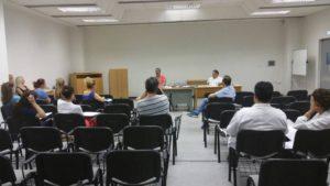 Ενημέρωση συναδέλφων στο Τμήμα Τελωνείου και στο Γενικό Νοσοκομειο Λεμεσού 19 Οκτωβρίου 2017