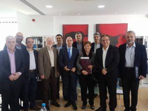 Ο πρόεδρος της ΑΣΔΥΚ σε συνάντηση που ειχε η Κοινωνική Συμμαχία για την εφαρμογή του ΓΕΣΥ 4 Δεκμβρίου 2017
