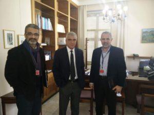 Συνάντηση ΑΣΔΥΚ με τον διευθυντη του ΤΔΔΠ στο προεδρικο στις 21 Δεκεμβρίου 2017